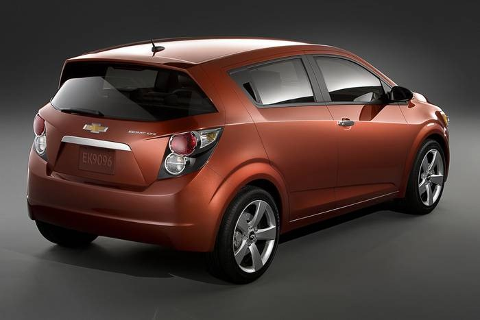 Chevrolet Sonic Announced in North America