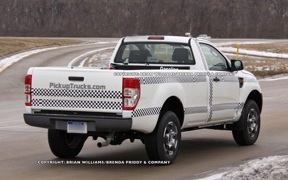 Flagra: Futura Ford Ranger cabine simples