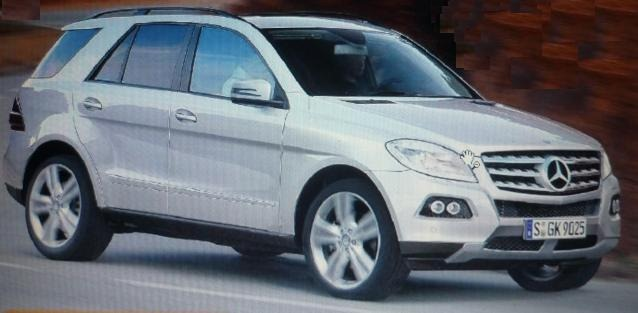 Surge suposta imagem do Novo Mercedes ML 2012