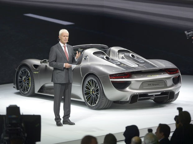confirmado porsche 918 spyder desembarca no brasil em. Black Bedroom Furniture Sets. Home Design Ideas