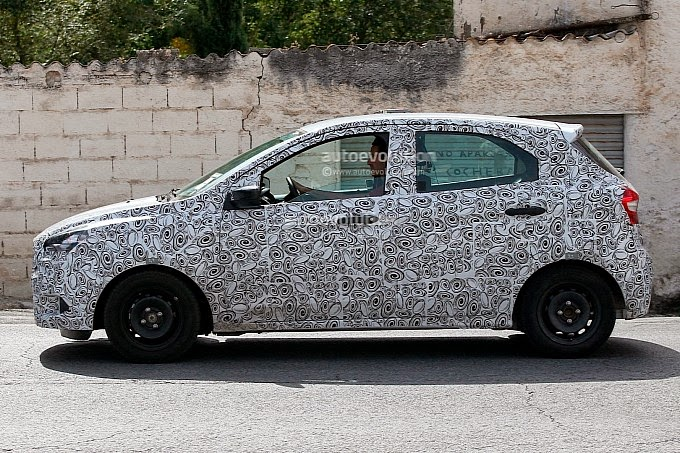 Novo Ford Ka é flagrado no exterior
