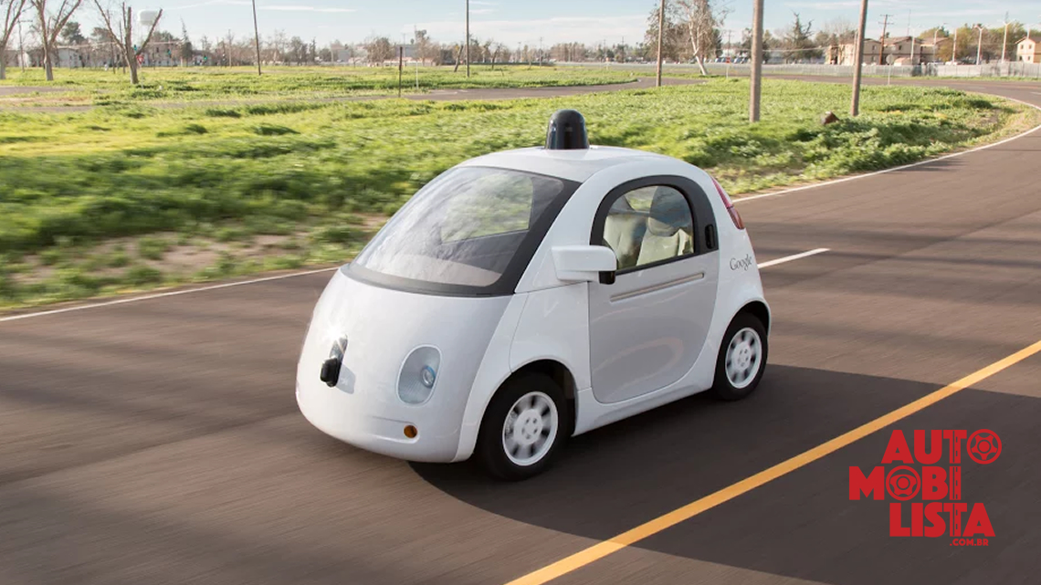 Google Self-Driving Car Project. Foto: Divulgação.