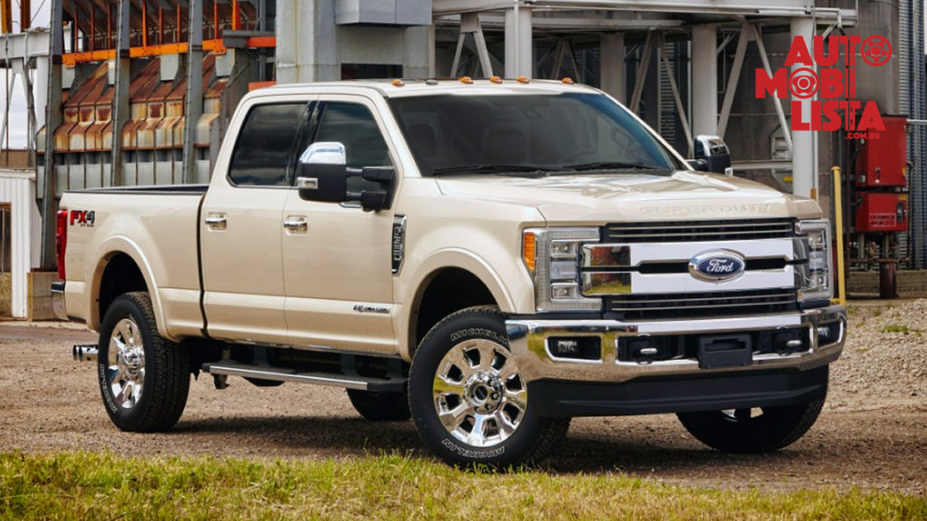 Ford F-350 Super Duty King Ranch. Foto: Divulgação.