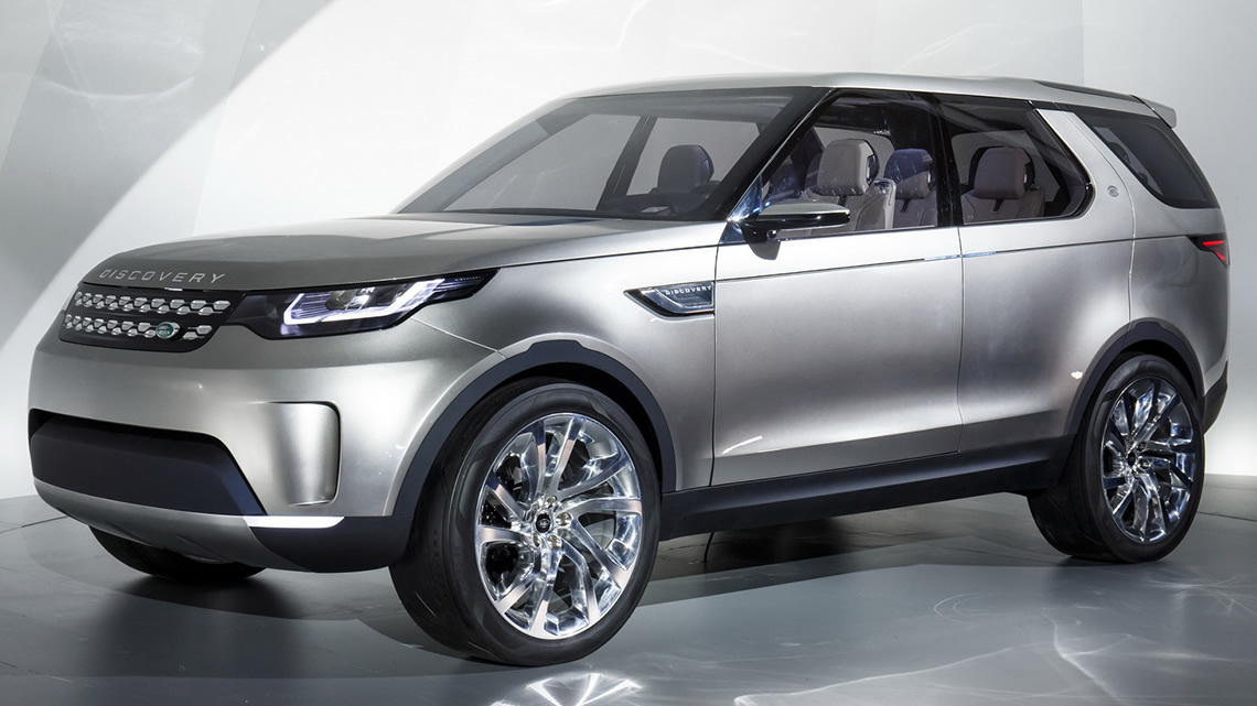 Land Rover Discovery Vision Concept (2014). Foto: Carscoops.