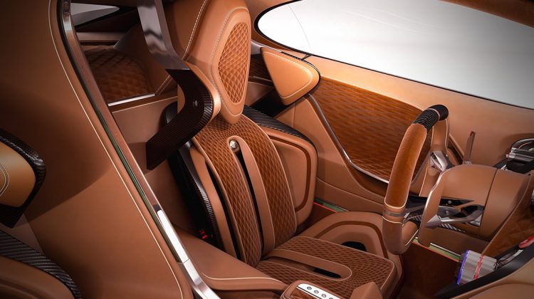 Interior do Alfa Romeo Furia 2016. Foto: Breshke Design.